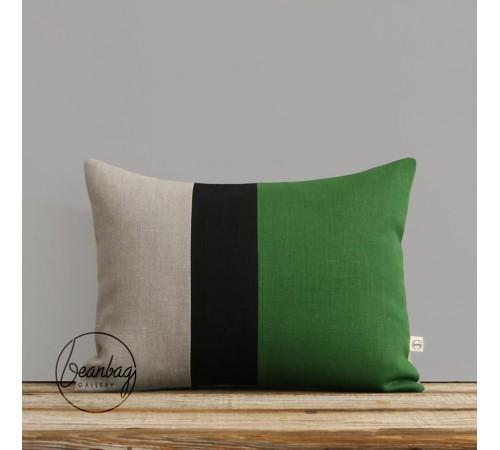 ბალიში   შავი მწვანე