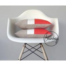 ბალიში  წითელი თეთრი